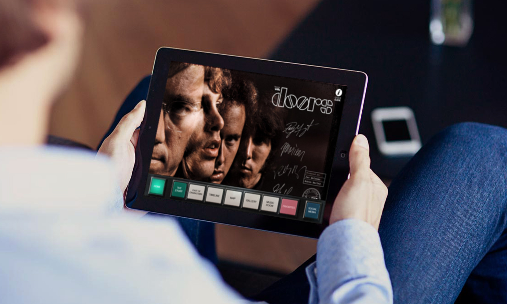The Doors app for iPad - AAARGB!