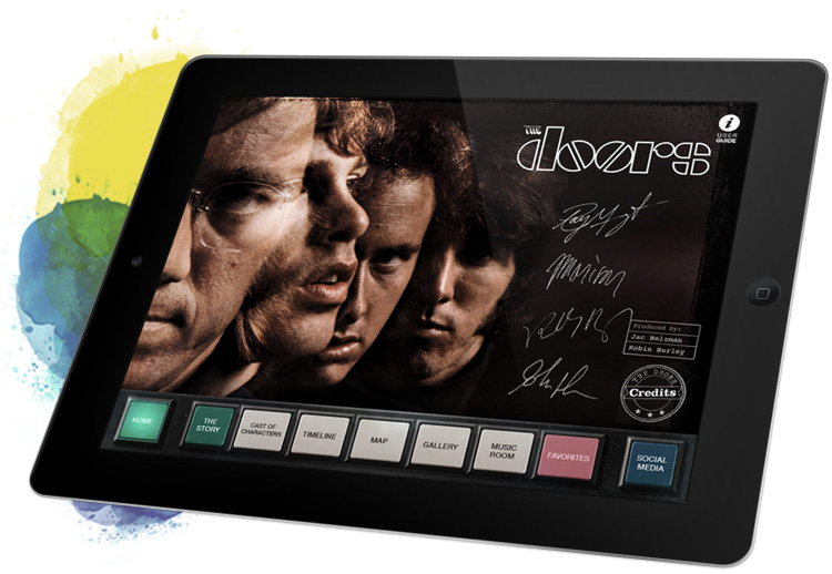 The Doors iPad app
